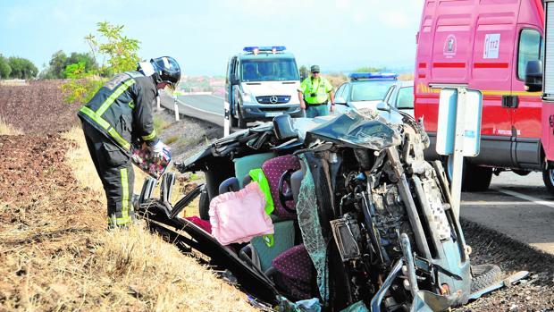 El 44,8% de los accidentes ocurridos en las carreteras de Sevilla fueron por velocidad inadecuada