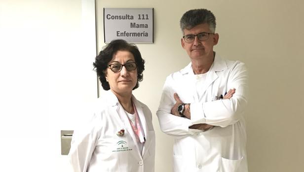 Los enfermeros María Josefa Cantero y Rafael Galisteo