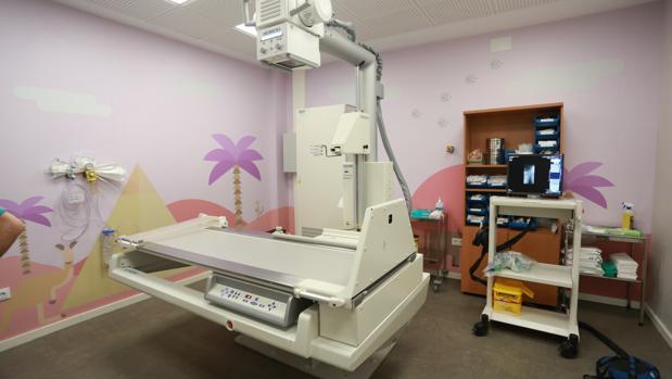 El hospital Virgen del Rocío es uno de los más afectados