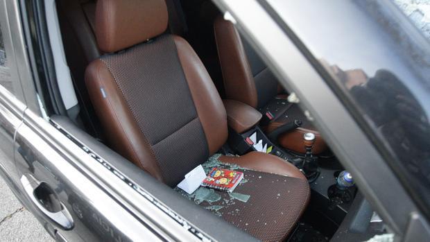 Imagen de archivo de un robo en el interior de un coche