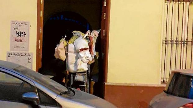 Ocupas en una vivienda de la calle Santa Ana