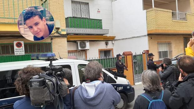 Vivienda del detenido por supuestamente planear un atentado terrorista en Sevilla