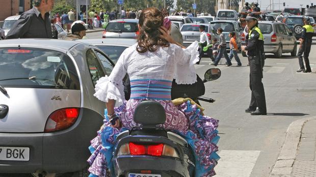 Este jueves arrancan los primeros cortes de tráfico por el plan especial con motivo de la Feria