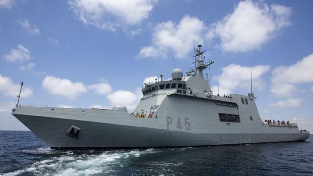 El Buque de Acción Marítima «Audaz» será uno de los barcos que podrán visitarse