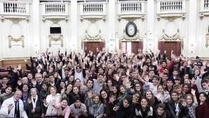 El Papa lanza en España «Scholas Ciudadanía», su metodología para los jóvenes que «huye» de las aulas