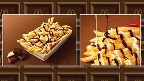 McDonalds lanza en Japón las patatas fritas con chocolate