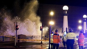 Lo peor del temporal está hoy en el Cantábrico, con olas de hasta 12 metros