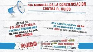 Seis de cada diez españoles pasamos más de dos horas al día expuestos a niveles de ruido perjudiciales para la salud