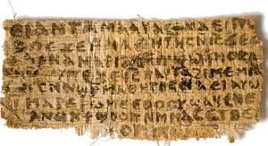 El «evangelio de la esposa de Jesús» es una falsificación moderna