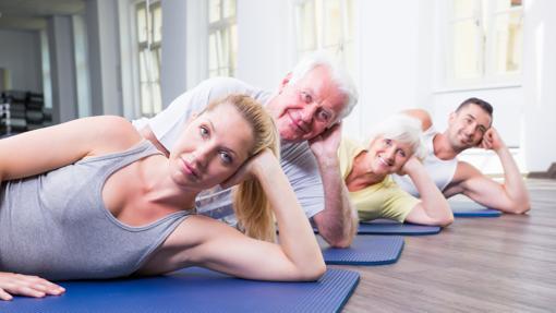 Incluso empezando después de los sesenta, el ejercicio mejora la salud