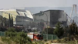 La UME descarta la contaminación del río Henares por vertidos tras el incendio en Chiloeches