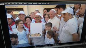 «Pizza con el Papa» para 1.500 «huéspedes» de las Misioneras de la Caridad
