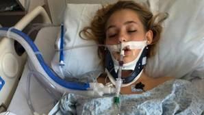 Publica en Facebook una foto de su hija en coma para concienciar de los peligros del alcohol