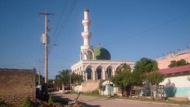 La mezquita «Omar ibn Jattab«, donde tuvieron lugar los hechos