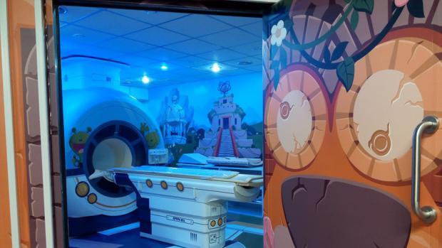 Sala de resonancias magnéticas