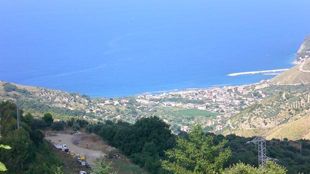 Imagen de la región italiana de El Cilento