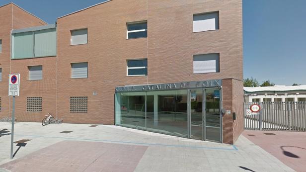 Centro en el que el agresor pegó supuestamente a la profesora de su hijo