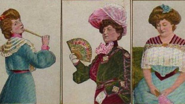 El lenguaje de los abanicos era muy usado en la época victoriana como una táctica para ligar