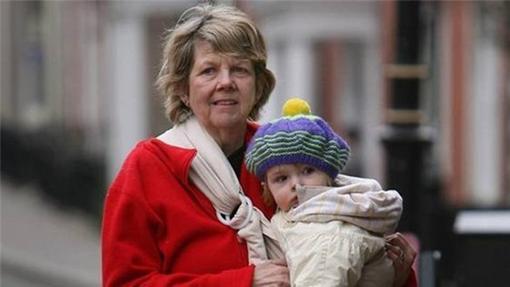 Patricia Rashbrook dio a luz a su cuarto hijo a los 62 años