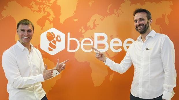 Juan Imaz y Javier Cámara, presidente y consejero delegado de beBee, respectivamente