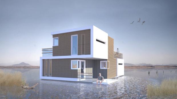 Imagen del prototipo de vivienda del proyecto holandés «Prenuptial Housing»