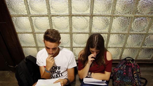 Selectividad en septiembre en la Universidad Complutense de Madrid