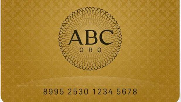 La tarjeta oro de ABC