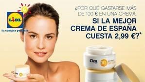 La crema hidratante «Cien» de Lidl, la mejor para los consumidores