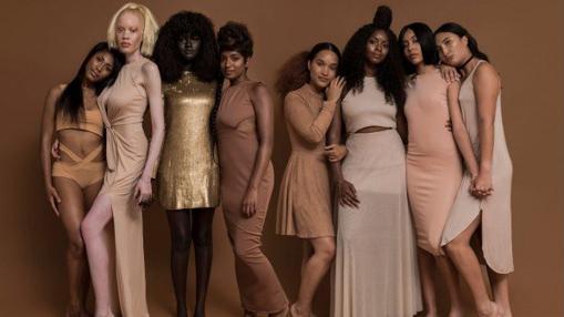 Fotografía de «Colored campaign», una campaña a favor de los distintos tonos de piel
