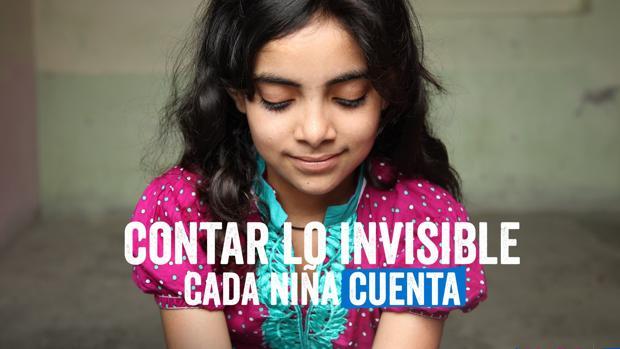 Millones de niñas son invisibles por la falta de datos sobre sus vidas
