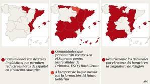 La ofensiva de las comunidades contra la Lomce