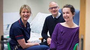 Tercer ingreso de Pauline Cafferkey, la enfermera británica que superó el ébola