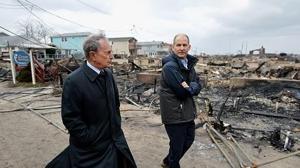 El devastador rastro de Sandy