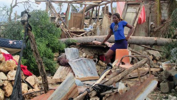 Destrozos en el oeste de Haití tras el paso del huracán Haití