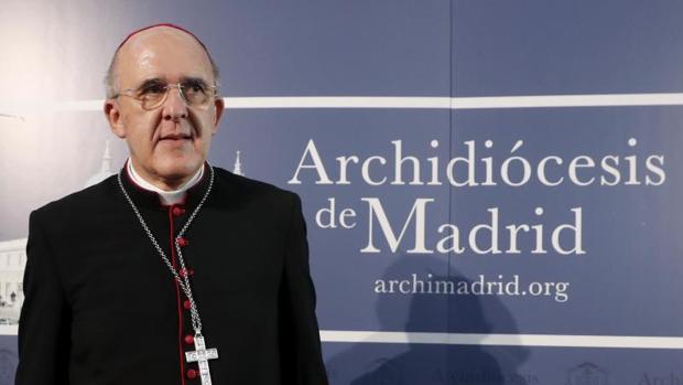 Osoro, durante la rueda de prensa en la que ha agradecido al Papa su nombramiento como cardenal