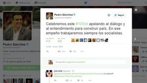 Pedro Sánchez celebra el Día de la Fiesta Nacional apelando «al diálogo y al entendimiento»