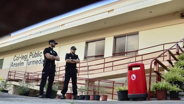 El colegio público Anselm Turmeda donde se produjo la agresión