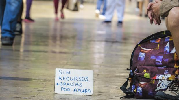 El 7,6% de la población española es pobre