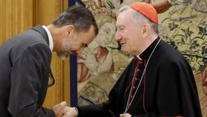Parolin afirma que todavía no está previsto que el Papa viaje a España, pero «todo es posible para los que tienen fe»