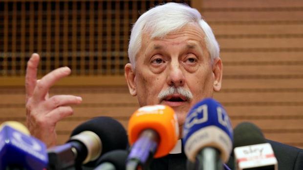 Arturo Sosa durante la rueda de prensa