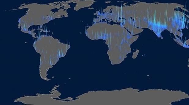 Cómo se asienta la gente en el planeta: 7.300 millones de personas viven en el 7,6% de superficie terrestre