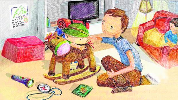 Hay que estar atentos al juego, en el que los niños expresan sus emociones