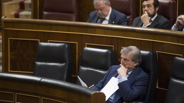El Congreso se ha convertido en el escenario del enfrentamiento entre el Gobierno y la oposición para rechazar la Lomce