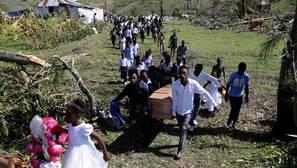 Haití cifra en 1.890 millones de dólares daños causados por huracán Matthew