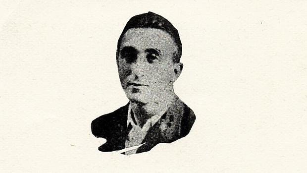 Imagen del recordatorio de Jesús Torrens, dado por muerto en 1937. Falleció en 2002 a los 96 años