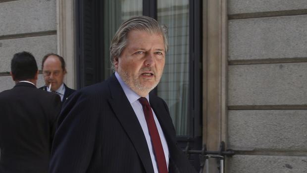 El todavía ministro de Educación en funciones, Íñigo Méndez de Vigo