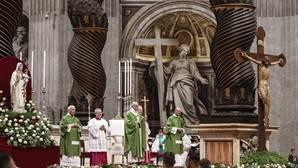 El Papa celebra misa para mil presos en la basílica de San Pedro