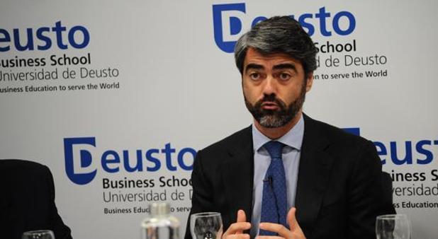 El consejero delegado de Vocento, Luis Enríquez