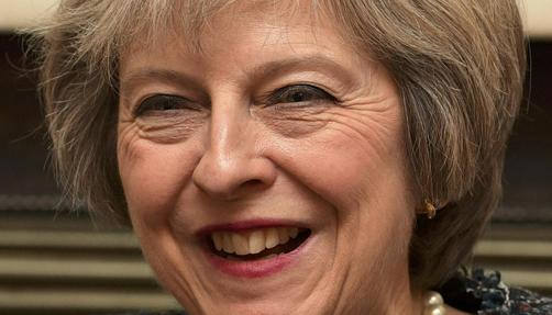 Theresa May, mandataria de Gran Bretaña
