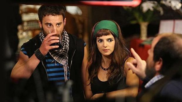 Un fotograma de la película «Ocho apellidos vascos»
